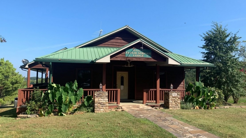 Ranch with Lodge for Sale, Northern Arkansas Ozarks