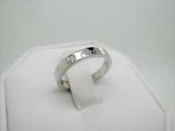 Cartier Platinum & Diamond Wedding Ring