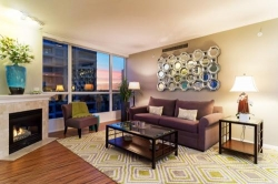 Bay and City Views from great Downtown San Diego Condo