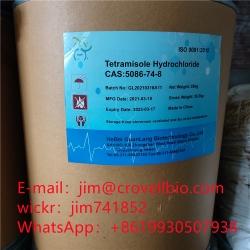 High quality Tetramisole Hydrochloride CAS 5086–74–8 jim@crovellbio.com Supplier,Factory supply.