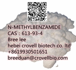 High Purity Cas 613-93-4 N-METHYLBENZAMIDE from Manufacture supplier +86 19930501651
